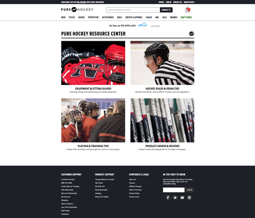 Pure Hockey Resource Center